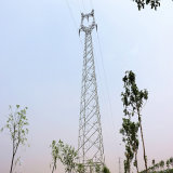 Башня передачи силы утюга угла 220 Kv линейная с одиночной цепью