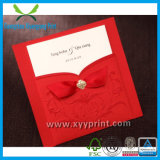 Tarjeta de Invitación de boda romántico de la fábrica de lujo personalizada