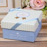 Boîte cadeau en papier d'emballage de confiserie colorée personnalisée