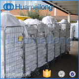4 Sides Logistic Transport Galvanized Storage Rolling Container