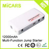 Стартер скачки автомобиля функции большой емкости 12000mAh непредвиденный инструмента портативный Multi