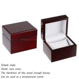 Kundenspezifische einfache Art-hölzerne einzelne Armbanduhr-verpackenkasten