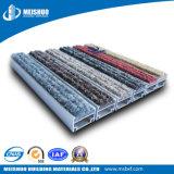 Anti slittamento basso di alluminio piegante facile fuori della stuoia dell'entrata del pavimento