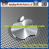 Feuille perforée en acier inoxydable, trou de poinçonnage, métal perforé