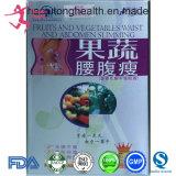Frucht u. Gemüse-Taillen-und Abdomen-Gewicht-Verlust, der Diät-Pille abnimmt