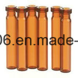 20ml Orange Flacon de verre tubulaire