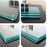 Mobília de arte pintada a quente Vidro temperado / copo de vidro temperado Shellf Glass