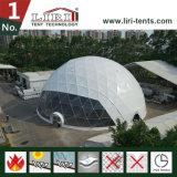 Tente en acier de medias de tente de demi de sphère de dôme du diamètre 3-60m