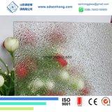 vidro modelado geado desobstruído de 6mm Obsured para a porta de vidro