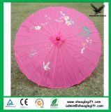 Выдвиженческий изготовленный на заказ зонтик бамбука печати логоса