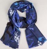 Wolle-Kaschmir-Drucken-Schal
