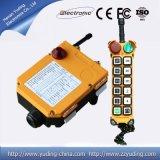 CA 220V 12channels Telecrane inalámbrica grúa de Radio Transmisor Receptor de control remoto
