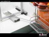 Welbomの現代光沢度の高い食器棚