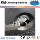 Máquina de engaste de manguera de apertura lateral de pantalla táctil para gran brida y codo