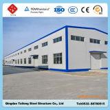 Retrait de construction neuf d'entrepôt de structure de bâti en acier de modèle