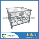 Récipient de stockage de métal industriel en acier pliable