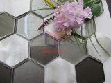 Мозаика украшения большого смешивания шестиугольника размера стеклянного алюминиевая (CFA81)