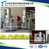 10-500кг/час больничных отходов для сжигания отходов, медицинское лечение мусора машины