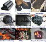 Печь угля брикета опилк твёрдой древесины хорошего качества