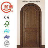 Konkurrierende klassische Amrican hölzerne Tür