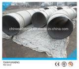 Curva de tubo inconsútil de acero de carbón de 45 grados del API 5L X60 5D