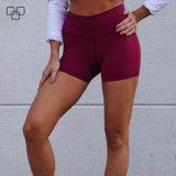 Ginásio Shorts de Lycra Ioga Quente Booty Fitness curtos