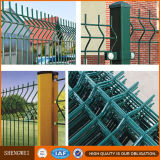 3Dによって曲げられる金網の塀ハイウェイか電流を通された塀