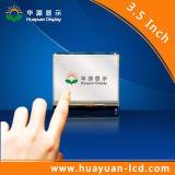 Módulo de la visualización de los sistemas TFT LCD del gas que vacia