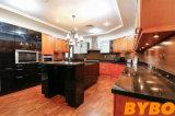 古典的な米国式の純木の台所家具