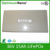 36V15ah de Batterij van de hoge Macht LiFePO4 voor e-Autoped