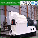 55kw moteur Concasseur à marteau de la biomasse, de 3 tonnes d'un marteau de sortie de machine de meulage