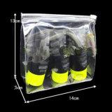 卸売の簡単なゆとりPVCジッパーの装飾的な袋3sizes