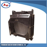 4DF1-09d: Radiador de agua para motores Diesel de Shanghai