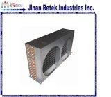 エアコンの部品として空気によって冷却される銅管のコンデンサー