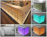 Pedra Artificial Sercie OEM moderno Bar Contador para Discoteca