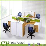 Poste de travail de partition de bureau de Tableau de bureau de L-Forme