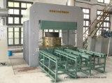 Grande montagem de choque fazendo moldura de borracha Vulcanizador máquina de imprensa