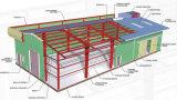 Taller de prefabricados de estructura de acero de la luz (KXD-SSW1065)