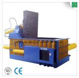 Presse hydraulique en aluminium de mitraille horizontale
