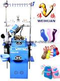 Weihuan (WH) Computerized Feather Yarn и Microfiber Socks Knitting Machine, Half Flocking Socks (WEIHUAN-6FR)