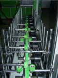 Holzbearbeitung Schrott-Beschichtung Profil-Verpackungs-Maschine für Fenster