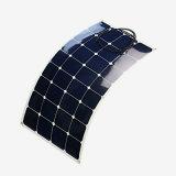 Comitato solare semi flessibile di campeggio 100W di Sunpower di uso del caravan di Yatch