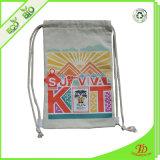Trouxa relativa à promoção personalizada do Drawstring do saco de Drawstring 210d