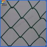 Maille métallique à chaîne soudée revêtue de PVC