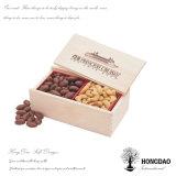 Hongdao 고품질 Macarons_D를 위한 나무로 되는 수송용 포장 상자
