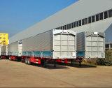 50 톤 세 배 차축 강한 CIMC 상자 트레일러