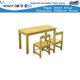 Mesas e cadeiras para crianças em madeira na China (HLD-2604)