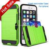 iPhone、Credit Card Holder CaseのためのセルPhone Case