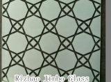 4m m, 5m m, 6m m mancharon el vidrio cubierto pintura decorativa del arte (JINBO)