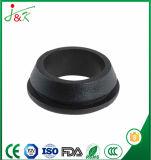 Schwarze flexible Gummitülle für Durchlauf-Drähte und Kabel